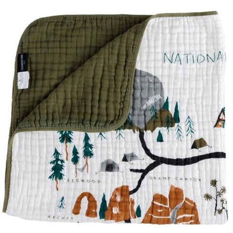 Muslin Cotton Quilt - National Parks