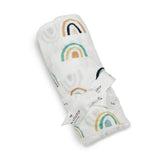 Muslin Swaddle - Neutral Rainbow