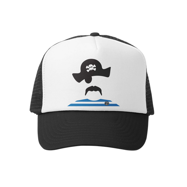 Pirate Trucker Hat - Big