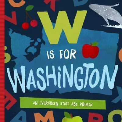 W is for Washington Book