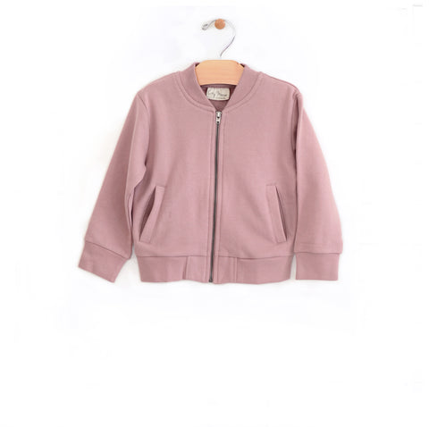 Bomber Jacket - Dusty Rose