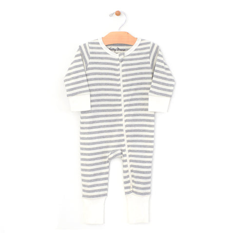 Stripes 2-way Zip Romper