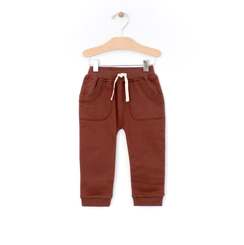 Patch Pocket Jogger - Rust