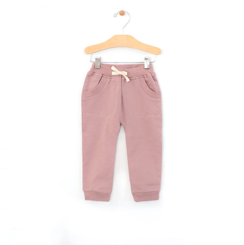 Patch Pocket Jogger - Dusty Rose