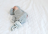 Newborn Knotted Gown - Asher