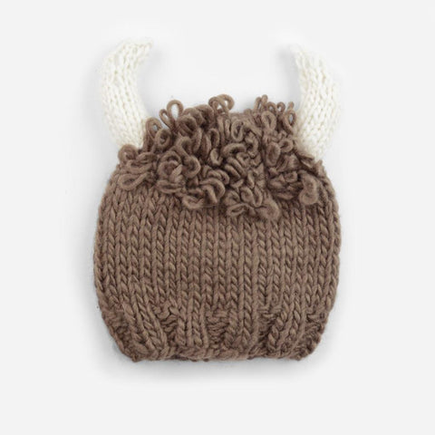 Billy Buffalo Hat - Mocha Brown