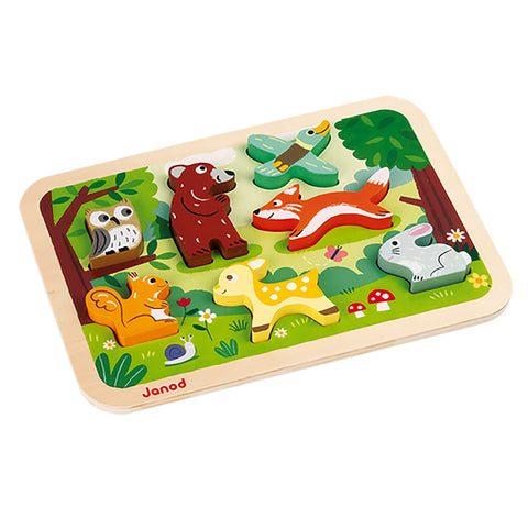 Chunky Puzzle - Forest Animals