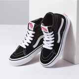 UY Sk8-Hi- Black & True White
