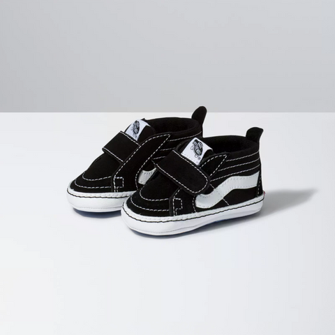 Sk8-Hi Crib Black/True White