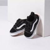 V Crib - Old Skool Black & True White