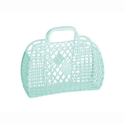 Jelly Retro Basket - Small - Mint