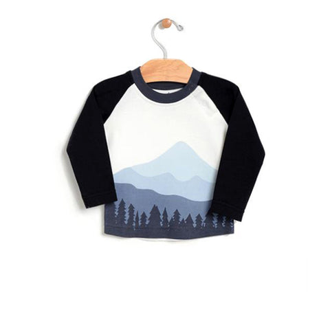 Mountain Raglan Tee - Shadow