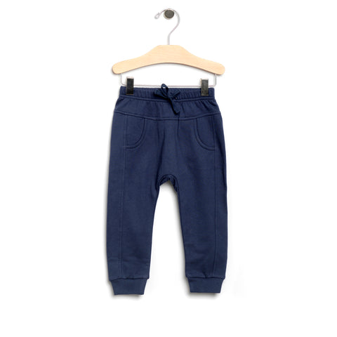 Sporty Pocket Pant - Midnight Blue