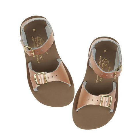 Salt Water Surfer Sandals - Rose Gold