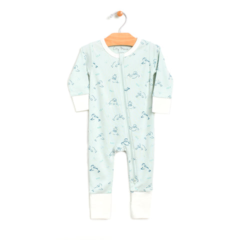 Seals 2-way Zip Romper