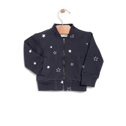 Stars Bomber Jacket - Shadow
