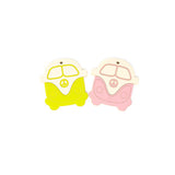 VW Bus Silicone Teether - Mustard