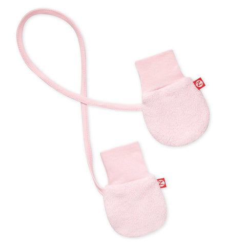 Cozie Fleece Mitts - Baby Pink
