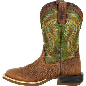 Lil' Durango® Rebel Pro™ Youth Briar Green Western Boot