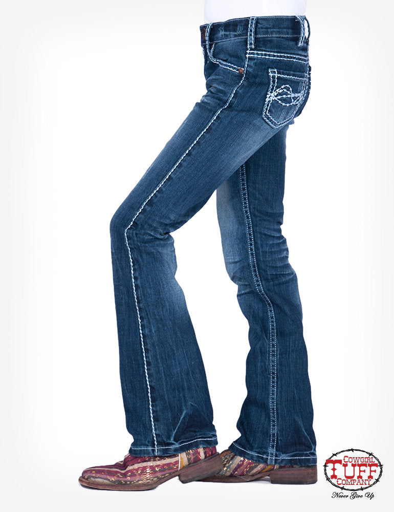 Girls 'Edgy' Jeans