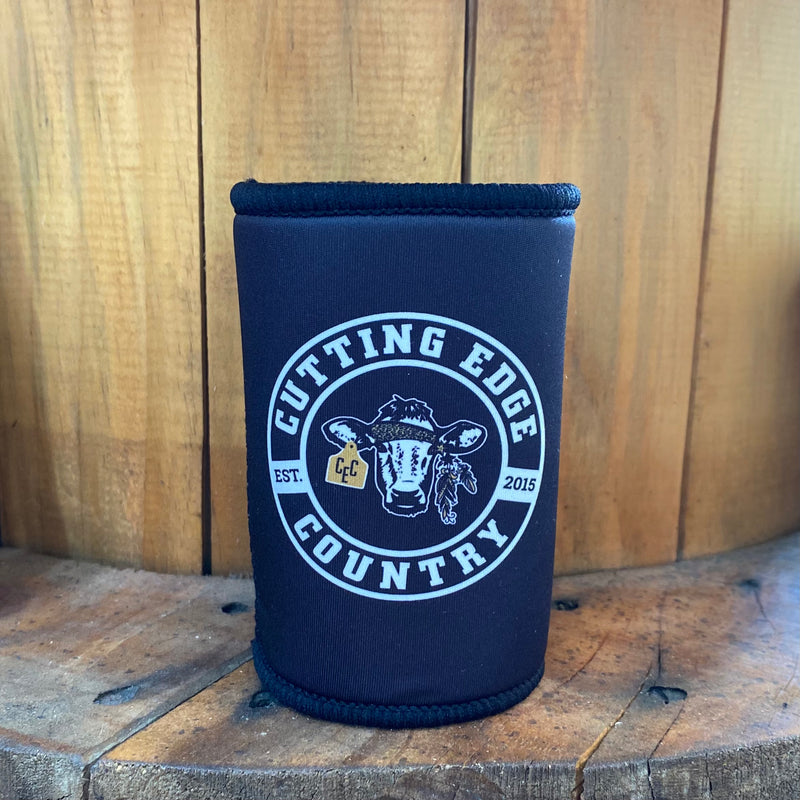 Cutting Edge Country Logo Black Cooler