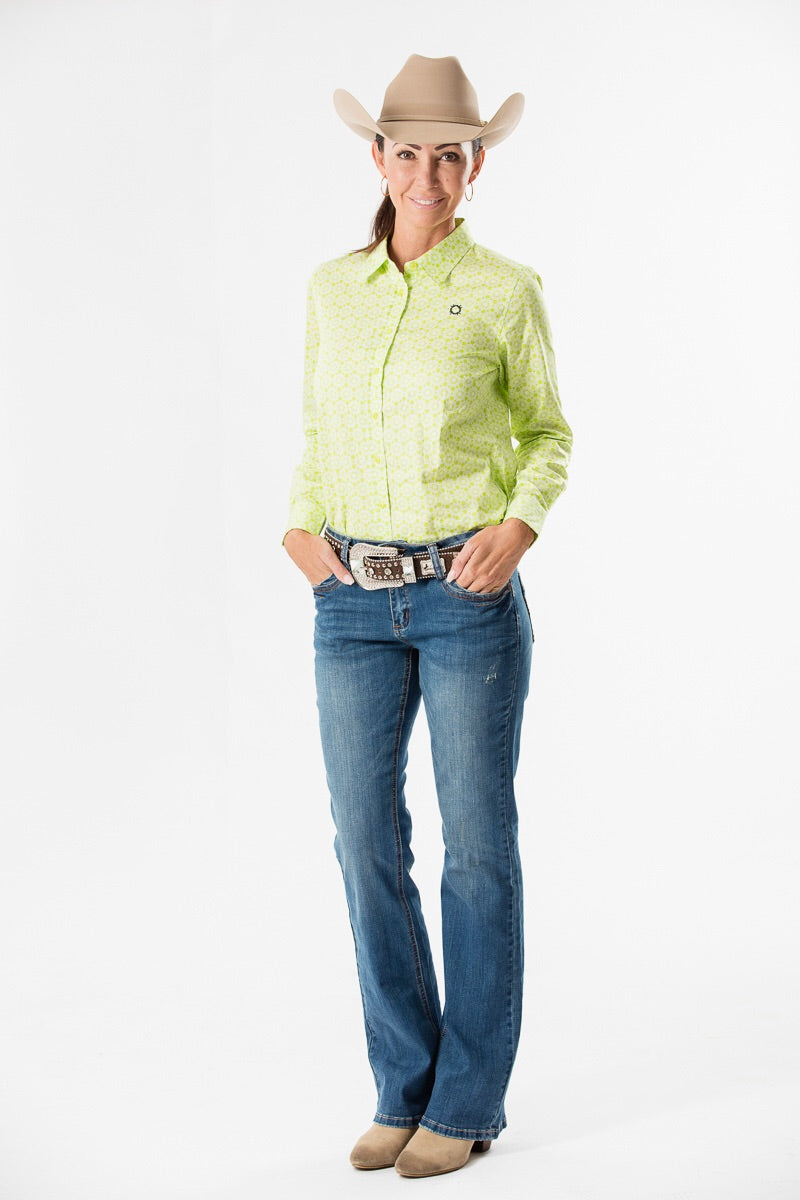 Outback Lime Lace Arena Shirt