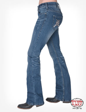 'Montana' Classic Fit Bootcut Jeans