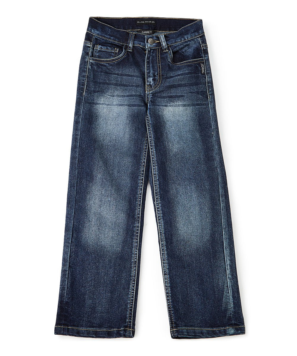 Boys 'Garret' Loose-Fit Bootcut Jeans