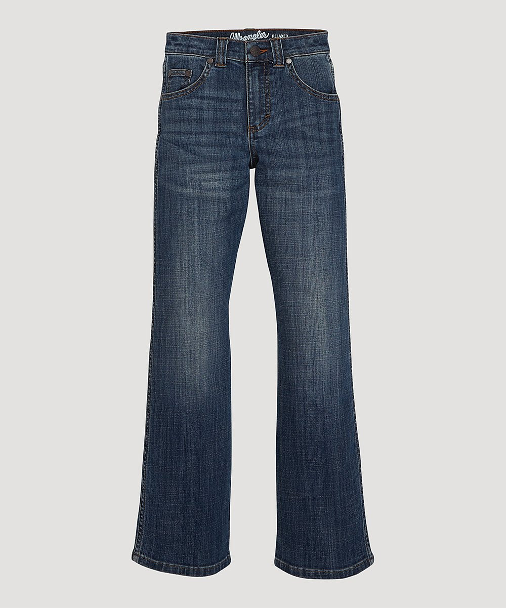 Boys Retro Relaxed Bootcut Jeans