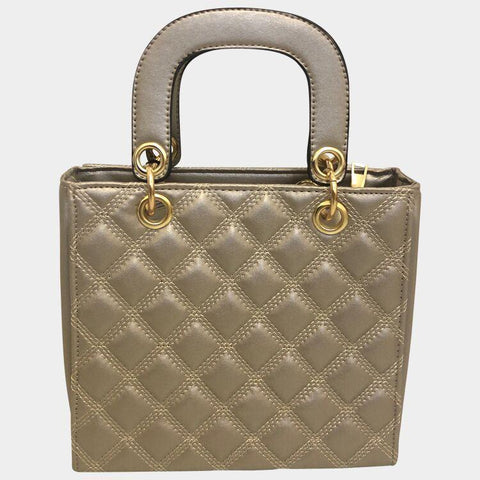 bb6ca80818c Love Affair Zilver Quilted Crossbody Tas – Crossbody.be - Populaire ...