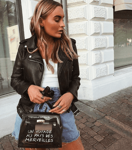Thilde Black Clear Crossbody - Groot