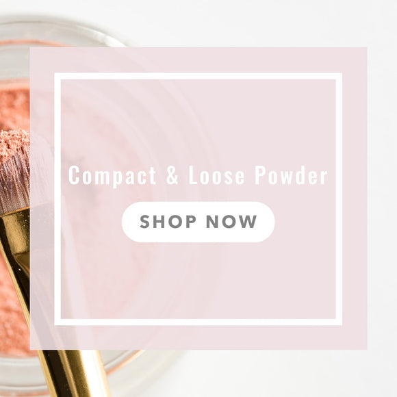 Shop Compact & Loose Powder at Glamabox Cosmetix ☆ Find all the Cosmetics you need online right here and shop now, pay later with Afterpay | Humm | Laybuy. Free Shipping*