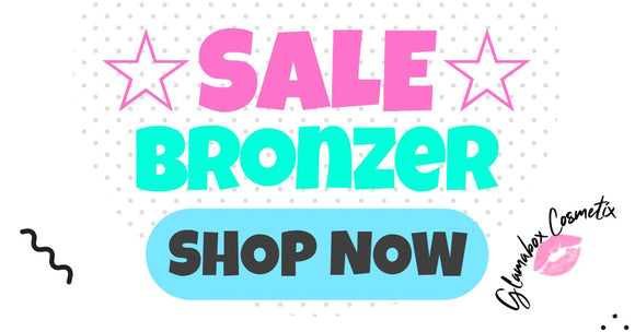Sale on all selected Bronzers! at Glamabox Cosmetix ☆  HURRY! Find all the Cosmetics you need online right here and shop now, pay later with Afterpay | Humm | Laybuy. Free Shipping*