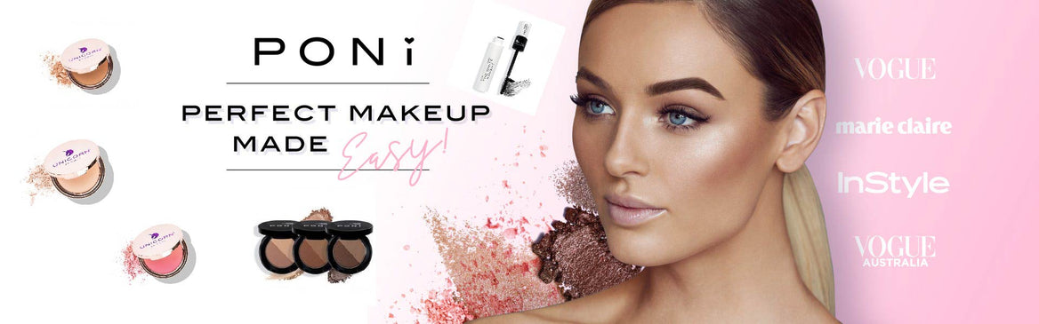 Poni Cosmetics banner afterpay