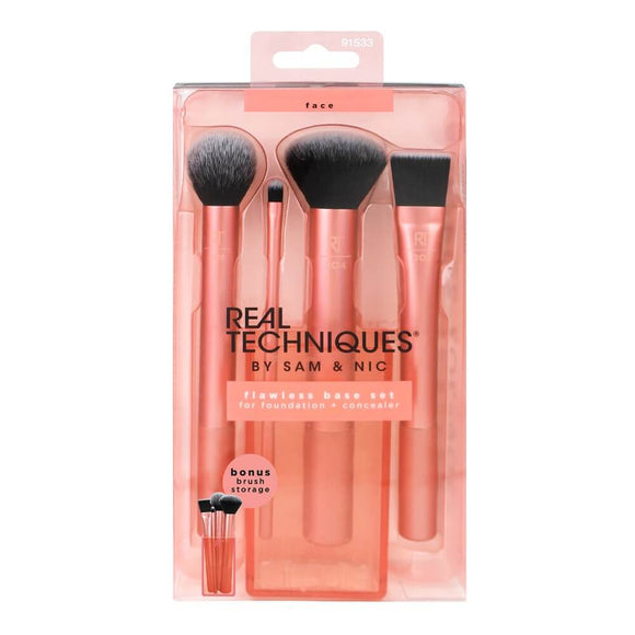 NEW LOOK - Real Techniques Flawless Base Set $47.99 Makeup Brushes & Blenders Real Techniques  Shop Cosmetics Online Glamabox Cosmetix ☆ Best Beauty Brands! Shop Skincare, Haircare & Makeup. Find all of your Beauty needs right here. Shop Makeup with Afterpay✓ Humm✓ Laybuy✓ Free Shipping*