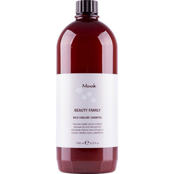 Nook Beauty Family Milk Sublime Dry & Stressed Hair Shampoo 1L