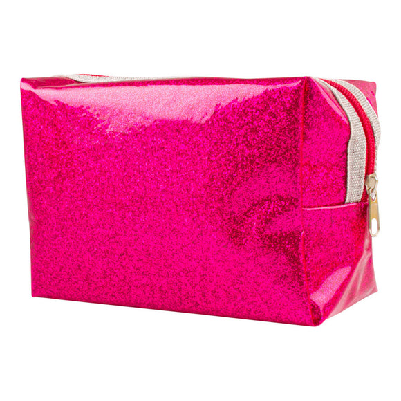 Urban Care Glitter Cosmetic Bag - Pink