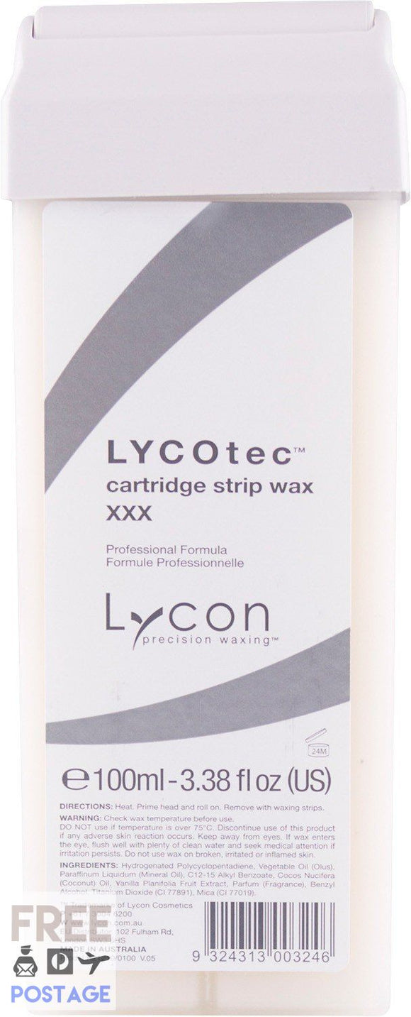 Lycon Lycotec Cartridge 100ml $3.95 Wax Cartridge Lycon 9324313003246 Shop Cosmetics Online Glamabox Cosmetix ☆ Best Beauty Brands! Shop Skincare, Haircare & Makeup. Find all of your Beauty needs right here. Shop Makeup with Afterpay✓ Humm✓ Laybuy✓ Free Shipping*
