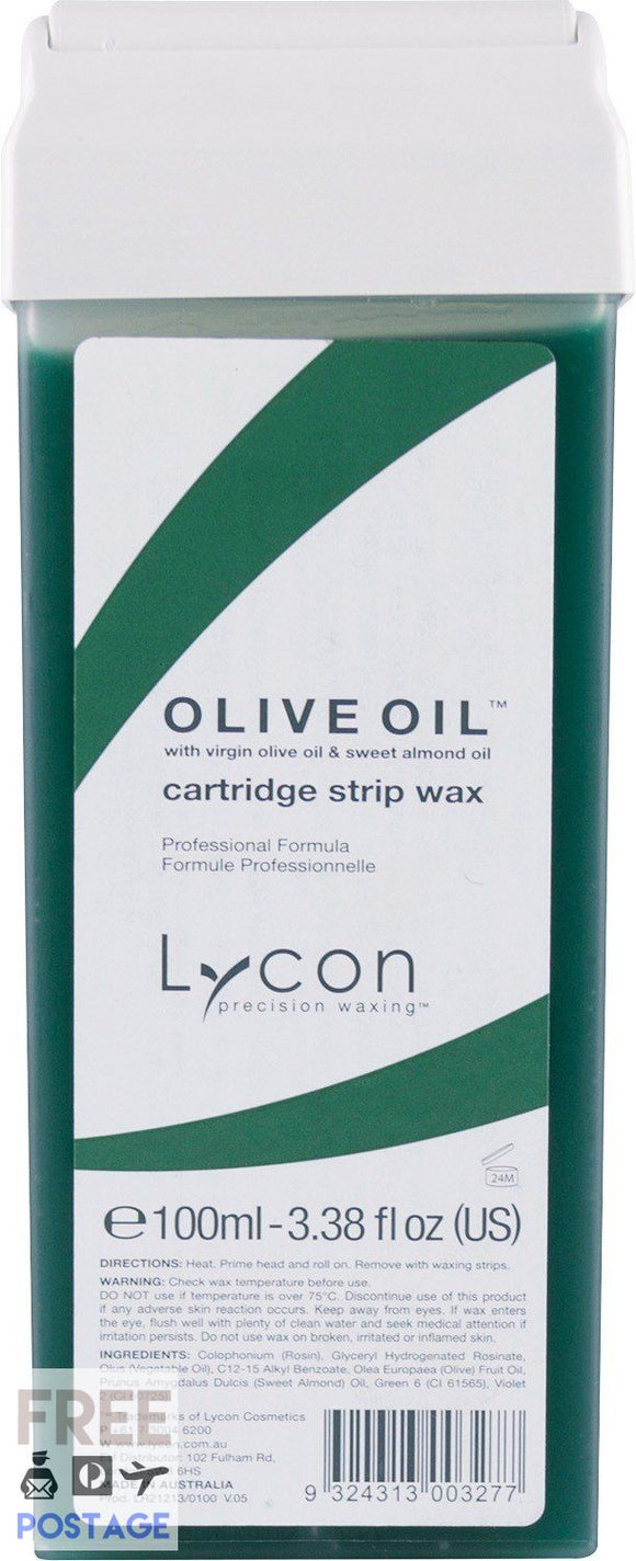 Lycon Olive Oil Cartridge 100ml $3.95 Wax Cartridge Lycon 9324313003277 Shop Cosmetics Online Glamabox Cosmetix ☆ Best Beauty Brands! Shop Skincare, Haircare & Makeup. Find all of your Beauty needs right here. Shop Makeup with Afterpay✓ Humm✓ Laybuy✓ Free Shipping*