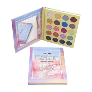 Okalan Paradise II 20-Color Eyeshadow Palette #E089 $37.56 Eyeshadow Palettes Okalan Cosmetics  Shop Cosmetics Online Glamabox Cosmetix ☆ Best Beauty Brands! Shop Skincare, Haircare & Makeup. Find all of your Beauty needs right here. Shop Makeup with Afterpay✓ Humm✓ Laybuy✓ Free Shipping*