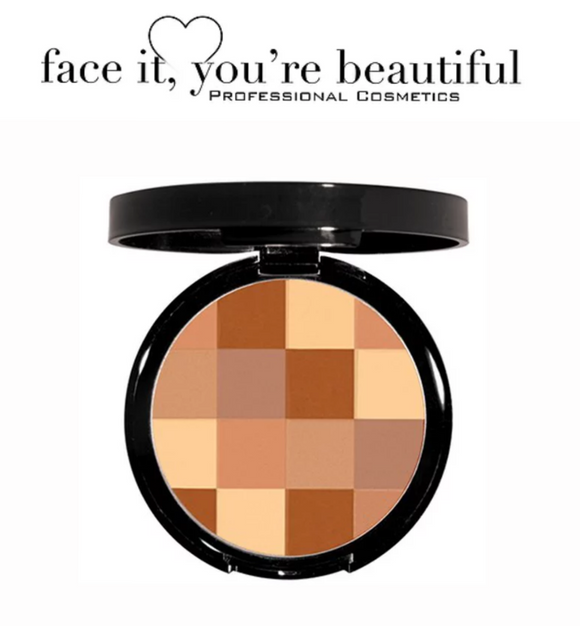 FIYB Pro Cosmetics - Mosaic Bronzer $24.98 Bronzer - Makeup FIYB  Glamabox Cosmetix ☆ Afterpay Humm Pay  Laybuy Cosmetics Online Free Shipping