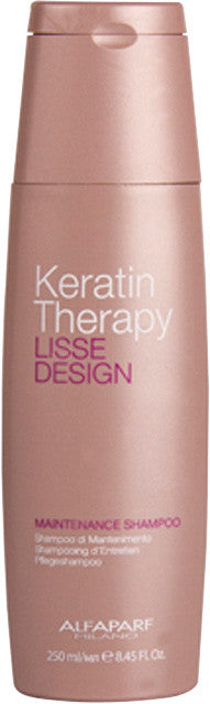 Keratin Therapy Lisse Design Maintenance Shampoo 250ml $32.99 Shampoo Alfaparf  Shop Cosmetics Online Glamabox Cosmetix ☆ Best Beauty Brands! Shop Skincare, Haircare & Makeup. Find all of your Beauty needs right here. Shop Makeup with Afterpay✓ Humm✓ Laybuy✓ Free Shipping*