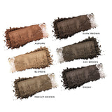 Modelrock - Uptown Brows - Brow Powder - Dark Brown