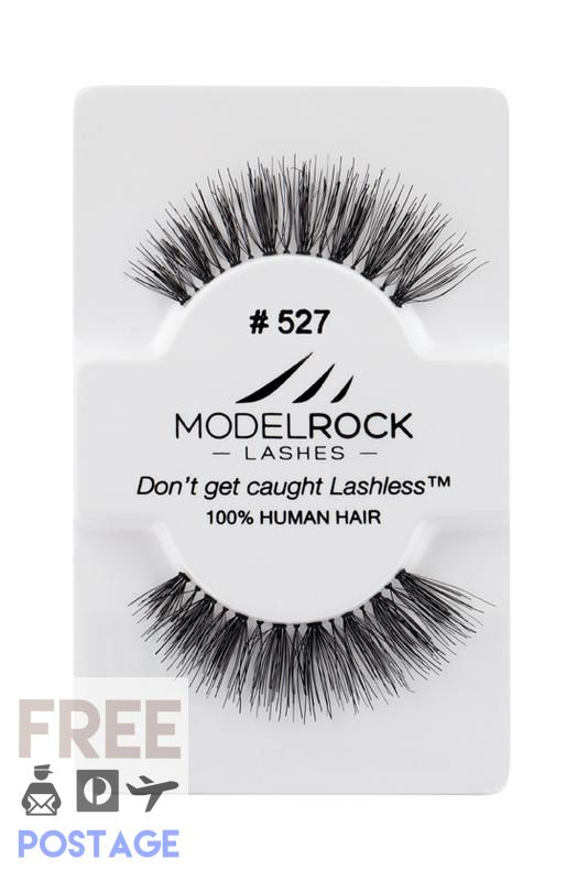 MODELROCK LASHES -  Kit Ready #527 MODELROCK Lashes $6.95 Glamabox Cosmetix ☆ Afterpay  Humm  Laybuy False Lashes