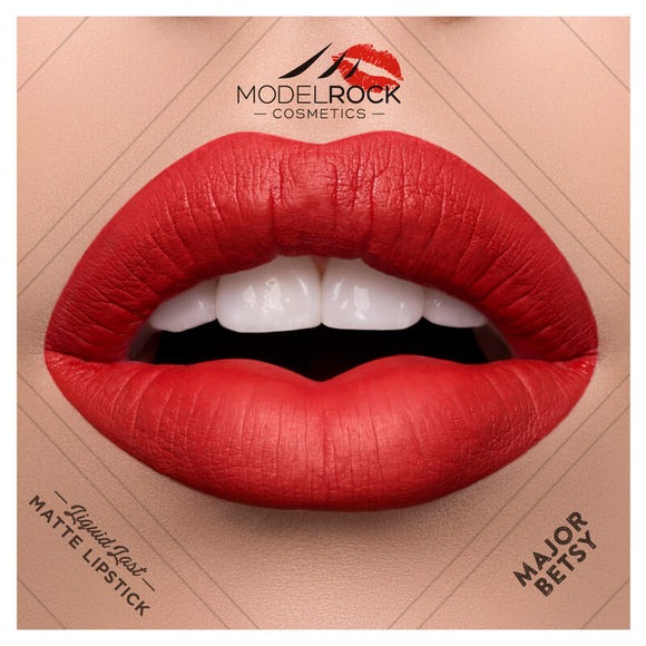 MODELROCK Liquid to Matte Longwear Lipstick - MAJOR BETSY