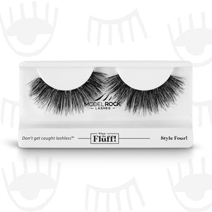 WHAT THE FLUFF ! 'Style Four' $9.6 False Lashes MODELROCK Lashes  Shop Cosmetics Online Glamabox Cosmetix ☆ Best Beauty Brands! Shop Skincare, Haircare & Makeup. Find all of your Beauty needs right here. Shop Makeup with Afterpay✓ Humm✓ Laybuy✓ Free Shipping*