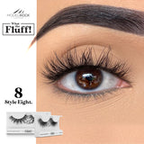 WHAT THE FLUFF ! 'Style Eight' $9.6 False Lashes MODELROCK Lashes  Shop Cosmetics Online Glamabox Cosmetix ☆ Best Beauty Brands! Shop Skincare, Haircare & Makeup. Find all of your Beauty needs right here. Shop Makeup with Afterpay✓ Humm✓ Laybuy✓ Free Shipping*