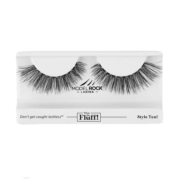 WHAT THE FLUFF ! 'Style Ten' $9.6 False Lashes MODELROCK Lashes  Shop Cosmetics Online Glamabox Cosmetix ☆ Best Beauty Brands! Shop Skincare, Haircare & Makeup. Find all of your Beauty needs right here. Shop Makeup with Afterpay✓ Humm✓ Laybuy✓ Free Shipping*