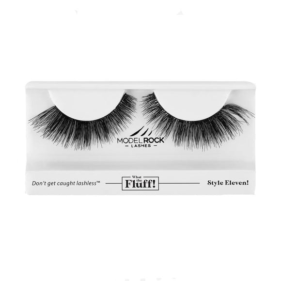 WHAT THE FLUFF ! 'Style Eleven' MODELROCK Lashes $12 Glamabox Cosmetix ☆ Afterpay  Humm  Laybuy False Lashes