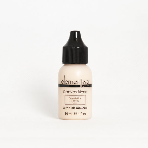 Elementwo CANVAS BLEND Foundation 30ml CBF-03 Linen $43 Foundation Elementwo  Shop Cosmetics Online Glamabox Cosmetix ☆ Best Beauty Brands! Shop Skincare, Haircare & Makeup. Find all of your Beauty needs right here. Shop Makeup with Afterpay✓ Humm✓ Laybuy✓ Free Shipping*